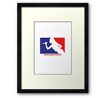 Major League Slayer Framed Print