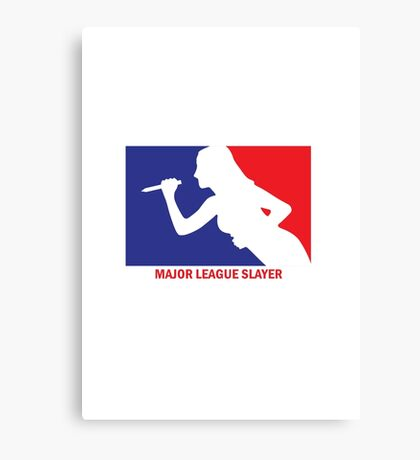 Major League Slayer Canvas Print