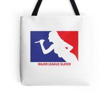 Major League Slayer Tote Bag