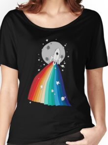 Pride Rocket T-shirt femme coupe relax