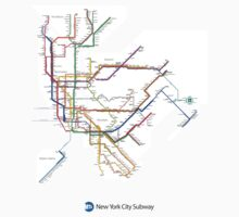 new york subway diagram by erreeme