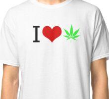 I LOVE WEED Classic T-Shirt