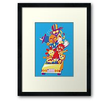 Parappa the Roadtrip Framed Print