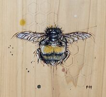 Bee #4 by Fay Helfer