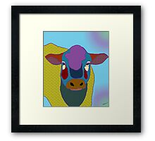 Molly Moo Cow Framed Print