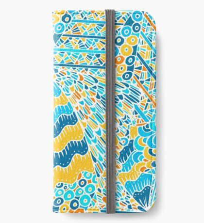 60s hippie psychedelic pattern iPhone Wallet/Case/Skin