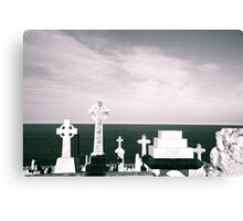 A place to rest by the ocean Canvas Print