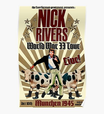 Nick Rivers - Live! Poster