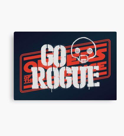 Go Rogue Canvas Print