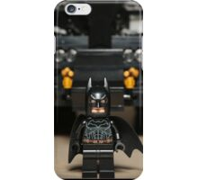 Batman Stare with Tumbler iPhone Case/Skin