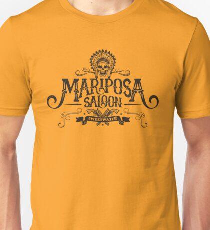 Mariposa Saloon (Aged look) Unisex T-Shirt