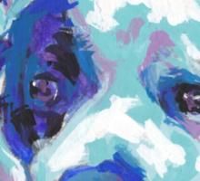 staffordshire Bull Terrier Bright colorful pop dog art Sticker