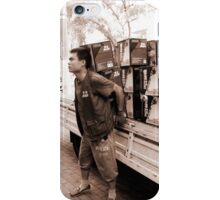the carrier iPhone Case/Skin