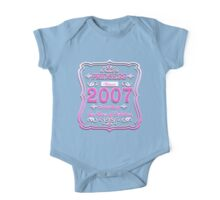 Princess Since 2007 10th Birthday Ten Years of Perfection One Piece - Short Sleeve