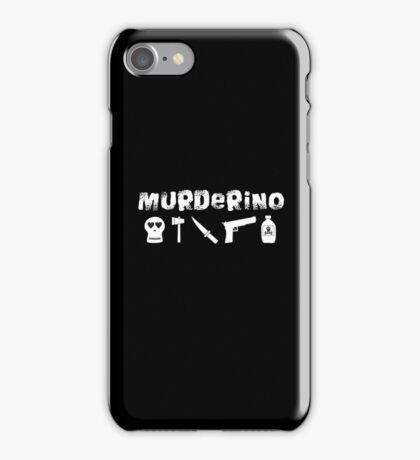 My Favorite Murder - Murderino (white text) iPhone Case/Skin