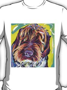 Spinone Italiano Bright colorful pop dog art T-Shirt