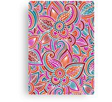 FLOWER PRINT b Canvas Print