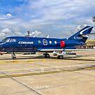 Dassault Falcon 20DC G-FRAH by Colin Smedley