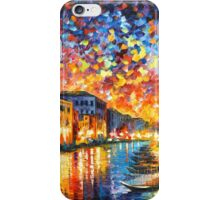 VENICE - GRAND CANAL - Leonid Afremov iPhone Case/Skin
