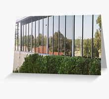 Landscape in Glass Greeting Card