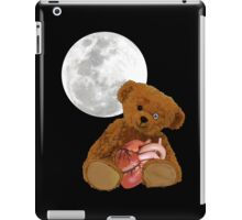 bear with a heart iPad Case/Skin
