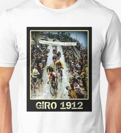 GIRO; Vintage Bicycle Race Advertising Print Unisex T-Shirt