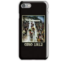 GIRO; Vintage Bicycle Race Advertising Print iPhone Case/Skin