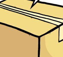 Cat Box Sticker