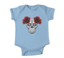 Skull & Roses One Piece - Short Sleeve
