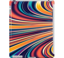 Color and Form Abstract - Solar Gravity and Magnetism 2 iPad Case/Skin