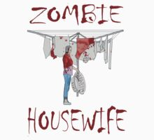 zombie housewife  by IanByfordArt