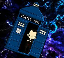 TARDIS in SPACE doctor who 9 by Bantambb
