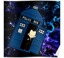TARDIS in SPACE doctor who 9 Poster