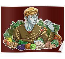 Kieren and Vegetables Poster