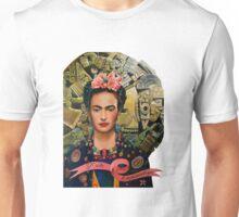 Frida Coyolxauhqui (no background) Unisex T-Shirt