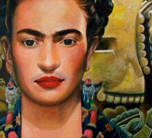 Frida Coyolxauhqui (no background) Sticker