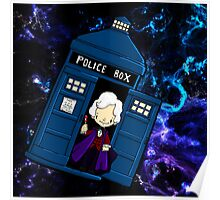 TARDIS in SPACE doctor who 3 Poster