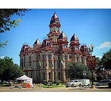 City Hall, Lockhart, Texas  Photographic Print
