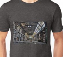 Old factory hall Unisex T-Shirt