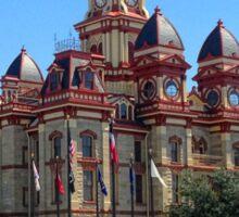 City Hall, Lockhart, Texas  Sticker