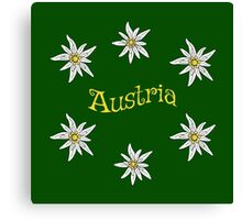 Edelweiss Austria Canvas Print