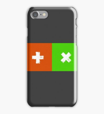 Ed Sheeran - 'X' Multiply and '+' Plus Design iPhone Case/Skin