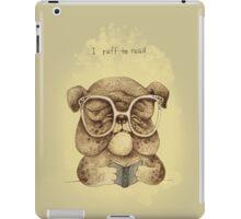 I Ruff to Read iPad Case/Skin
