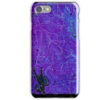 USGS TOPO Map California CA Challenge 289112 1950 24000 geo Inverted iPhone Case/Skin