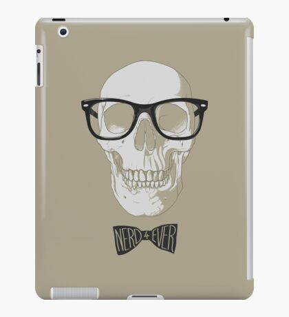 nerd 4ever iPad Case/Skin