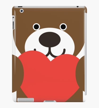 Teddy Bear Heart iPad Case/Skin