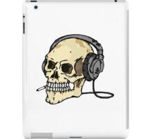 Smokin' Skull iPad Case/Skin