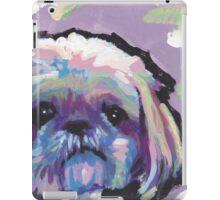 Shih Tzu Bright colorful pop dog art iPad Case/Skin