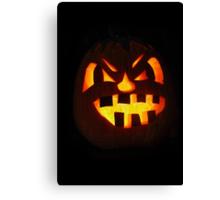 My Halloween Jack 'O Lantern-2014 Canvas Print