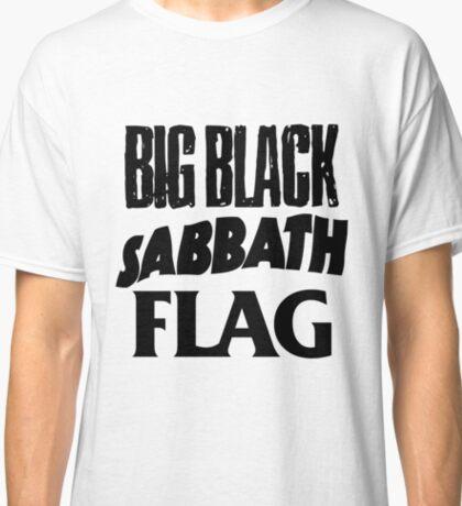Big Black Sabbath Flag Classic T-Shirt